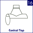 Conical Tap