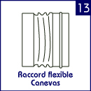 Raccord flexible Canevas